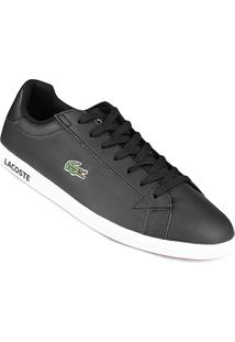 Tênis Couro Lacoste Gradt Lcr3 Bkbk Masculino - Masculino