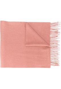 N.Peal Cachecol De Cashmere Grande - Rosa