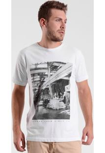 T-Shirt West Coast Worker Crew 1987 Branco