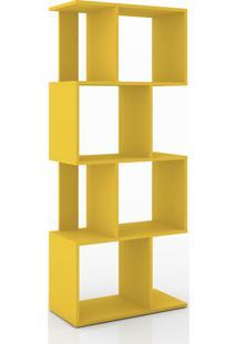 Estante/ Rack Retrô Móvel Bento Amarelo - Tricae