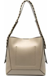 Stella Mccartney Medium Hobo Shoulder Bag - Neutro