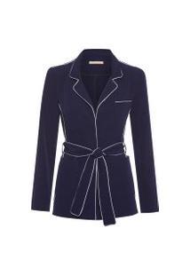 Blazer Feminino Doris Day - Azul
