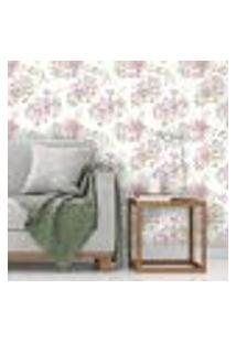 Papel De Parede Autocolante Rolo 0,58 X 3M Floral 115223887