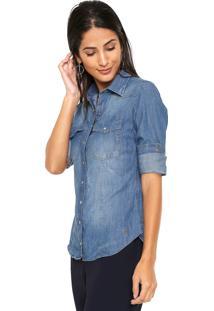 Camisa Dudalina Slim feminina  500abb784c5
