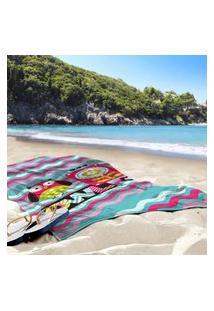 Toalha De Praia / Banho Coruja Único