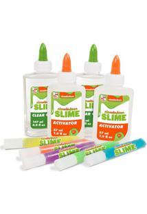 Conjunto De Acessórios - Faça Seu Slime - Nickelodeon - Colorido - Toyng