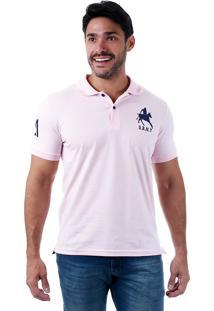 Camisa Polo Masculina Urbany - Rosa
