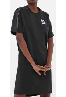 Vestido Fila Maxi Sports Preto