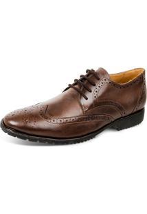 Sapato Sandro Moscoloni Forge Oxford-Marrone