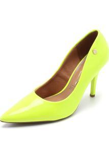 Scarpin Vizzano Neon Amarelo