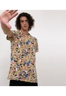 Camiseta Estampada Simpsons