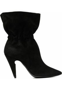 Saint Laurent Ankle Boot Étienne - Preto