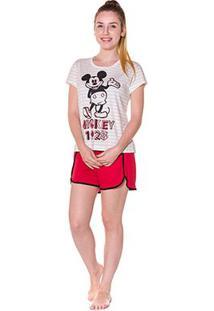Pijama Evanilda Curto Disney Feminino - Feminino