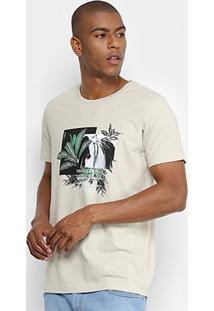 Camiseta Forum Tropical Masculina - Masculino-Verde