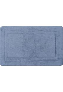 Tapete Para Banheiro Naturalle Fashion Bogota Azul