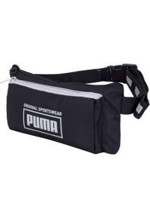 Pochete Puma Sole Waist Bag - Preto
