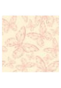 Papel De Parede Adesivo - Borboletas Rosa - 904Pps