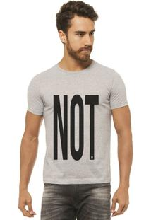 Camiseta Joss - Not 3 - Masculina - Masculino-Mescla