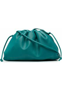 Bottega Veneta Bolsa Transversal The Pouch Mini - Verde