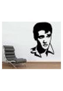 Adesivo De Parede Elvis Presley 4 - M 60X40Cm