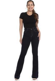 Calça Jeans Flare 360 264666 Sawary Feminina - Feminino