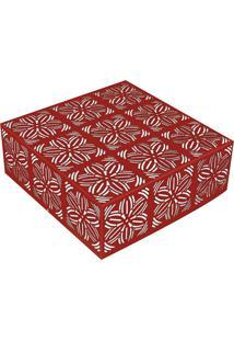 Plafon Renda 106 2Xe27 - Taschibra - Vermelho