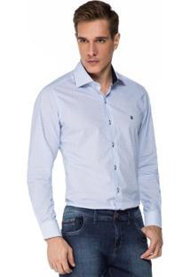 Camisa Baumgarten Estampada Círculos - Masculino