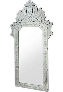 Espelho Veneziano Princesa Cor Prata 1,20 Mt (Alt) - 34310 - Sun House
