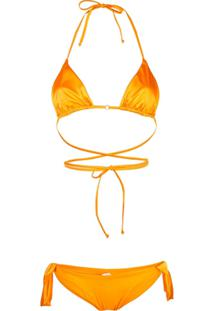Fantabody Wrap-Around Bikini - Laranja