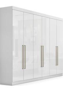 Guarda-Roupa 6 Portas, Branco, Ravello