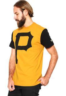 ... Camiseta New Era Pittsburgh Pirates Amarela 200f4ece50b53