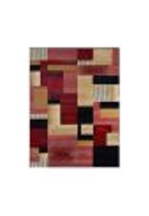 Tapete Retangular Veludo Marbella Illusione Artistic Preto 48X90 Cm