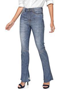 Calça Jeans Carmim Bootcut Soho Azul