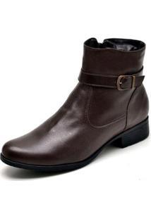 Bota Jna Shoes Country Feminina - Feminino-Marrom