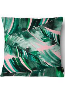 Capa Para Almofada Garden Folhagem 019 43X43Cm - Belchior - Verde