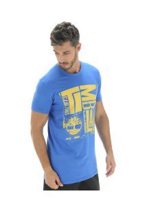 Camiseta Timberland Tbl City Logo - Masculina - Azul