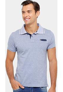 Camisa Polo Local Mesclada Masculina - Masculino