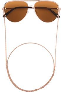 4af10ff06 R$ 3012,00. Farfetch Óculos De Sol Feminino De Sol Stella Mccartney ...