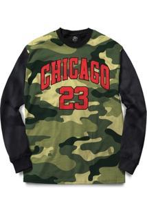 Blusa Bsc Chicago Camo Full Print - Masculino