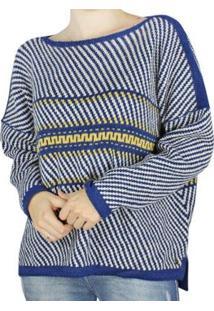 Blusa Biamar Feminina - Feminino-Azul