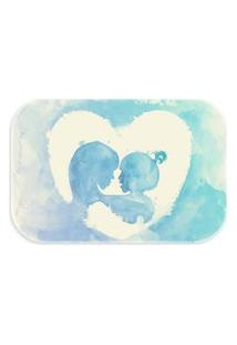 Tapete Love Decor Wevans Máe E Filha Color Azul