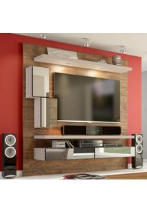 Painel Para Tv 180 Nobre/Fendi Com Espelho Tb109E - Dalla Costa