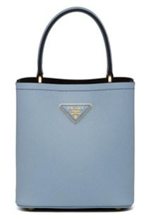 Prada Bolsa Panier - Azul