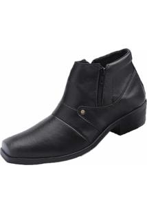 Sapato Social Bota Fandarello Preto