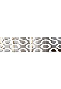 Espelho Acrílico De Parede Design Moderno 33X137 Cm