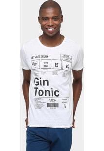 Camiseta Sérgio K. Estampa Gin - Masculino