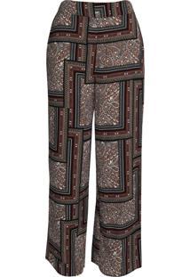 Calça Pantalona Feminina Facinelli Lenço