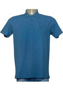 Camisa Masc Cavalera Clothing 03.01.0642 Azul Petroleo
