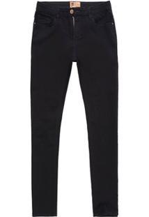 Calça Jeans Sl Fit Black Black Preto - Masculino