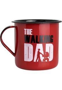 Caneca Esmaltada The Walking Dad